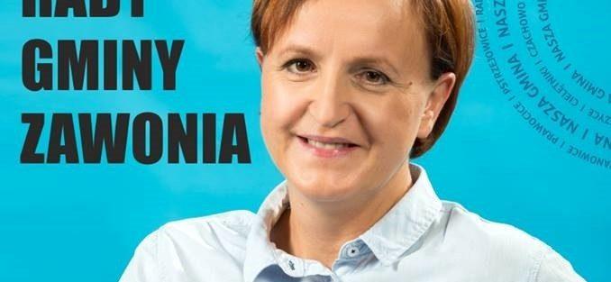Kandydatka  do Rady Gminy Zawonia – Agata Woloszczuk